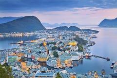 alesund挪威 库存照片