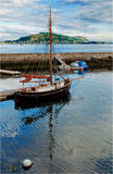 alesund łódź Norway Obraz Royalty Free