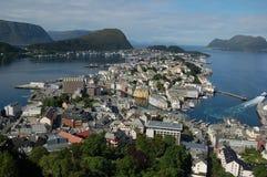 alesund Νορβηγία Στοκ φωτογραφίες με δικαίωμα ελεύθερης χρήσης