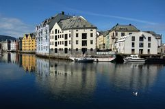 Alesund Fotos de Stock Royalty Free