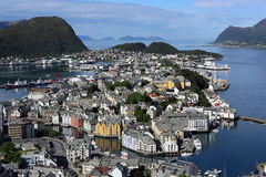 Alesund royalty free stock photography