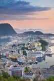 alesund Νορβηγία Στοκ Εικόνα