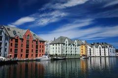 Alesund Photographie stock libre de droits