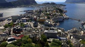 Alesund stock video