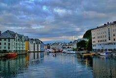 Alesund Fotografia de Stock Royalty Free