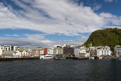 Alesund Foto de Stock Royalty Free