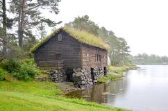Alesund-Bereich, Norwegen lizenzfreies stockbild