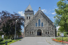 Alesund church in Norway Royalty Free Stock Image