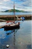 Alesund della barca della Norvegia Immagine Stock Libera da Diritti