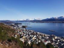 Alesund en Norvège photos stock