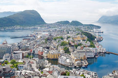 Alesund en Norvège Photographie stock libre de droits