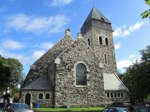 Alesund-Kirche stockfotos