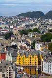 Alesund, Noorwegen Royalty-vrije Stock Afbeelding