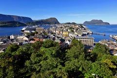 Alesund, Noorwegen Stock Foto's