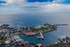 Alesund Noorwegen stock foto