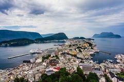 Alesund, Noorwegen Stock Foto