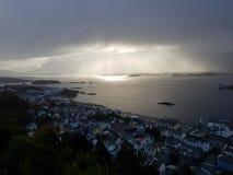 Alesund Noruega imagen de archivo libre de regalías