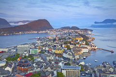 Alesund, Norvège Images libres de droits