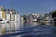 Alesund, Norvegia Fotografie Stock Libere da Diritti