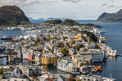 alesund Norway obrazy royalty free