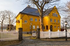 Architecture of Alesund museum Royalty Free Stock Photos