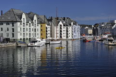 Alesund, Norway Stock Images