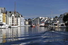 Alesund, Norway Royalty Free Stock Photos