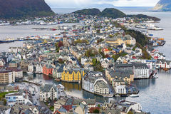 Alesund in Norway Stock Image