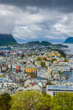 Alesund norway cityscape Stock Photography
