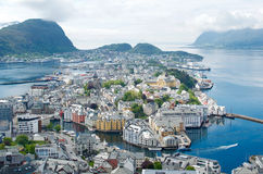 Alesund in Norway Stock Images