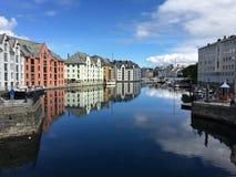 Alesund, Norwegen lizenzfreies stockfoto