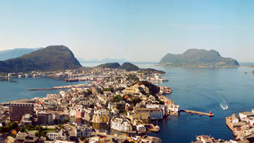 Alesund, Norwegen Stockbild