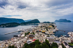 Alesund, Norwegen Stockfoto