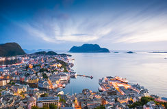 Alesund, Norwegen Stockfoto