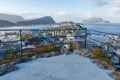 Alesund, Norwegen Stockfotos