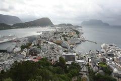 Alesund Norwegen lizenzfreie stockbilder