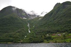 Alesund område, Norge Arkivbilder