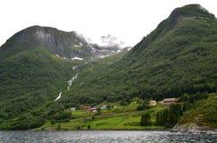 Alesund område, Norge Royaltyfria Foton