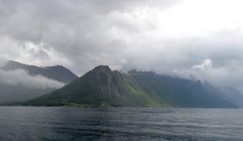 Alesund område, Norge Royaltyfria Bilder