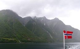 Alesund område, Norge Royaltyfri Foto