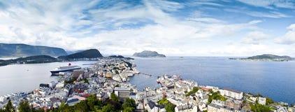Alesund Panorama Stock Image
