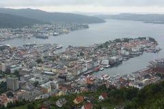 Alesund panorama Royaltyfria Bilder