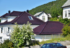 Alesund Roofs Royalty Free Stock Photography