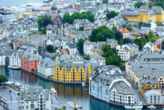 Alesund town (Norway) Stock Photo