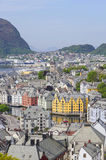 Alesund view Royalty Free Stock Images