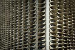 Aleta do para-sol na modernidade em Tailândia foto de stock