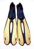Aletas do mergulhador Imagens de Stock Royalty Free