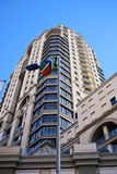 Aleteo del indicador surafricano imagen de archivo libre de regalías