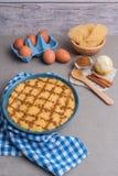 Aletria jest klasyków wermiszel Portugalskim puddingiem i to jest a Obrazy Royalty Free