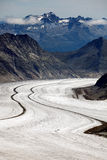 Aletsch Glacier Royalty Free Stock Images